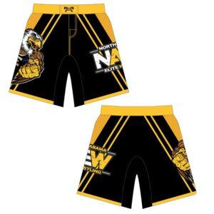 North Alabama Elite Custom Fight Shorts