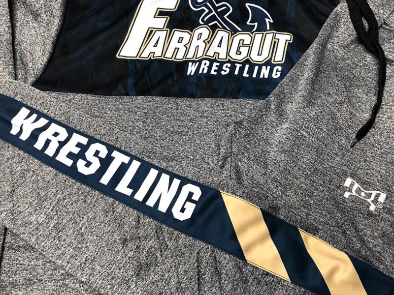 Farragut Wrestling Custom Team Gear