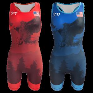 2019 Freestyle Soaring Eagle Singlet - Womens