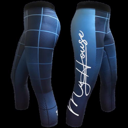 Wavy Plaid Women's Leggings