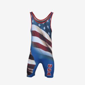 MyHouse Mens USA Flag Singlet