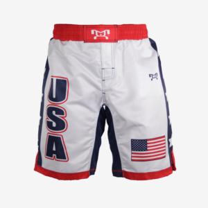 USA white shorts with stars F