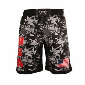 "MyHOUSE USA ""Wrestler Camo"" Shorts - Night"