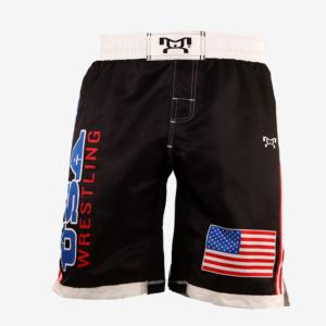 USA Fully Sublimated Shorts - Black