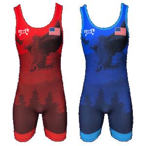 2019 Freestyle Soaring Eagle Singlet - Men