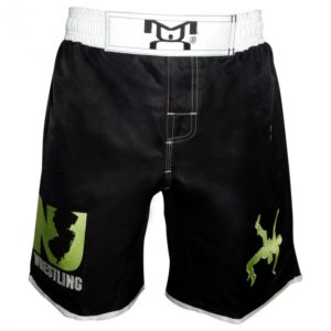 New Jersey Embroidered Fight Shorts