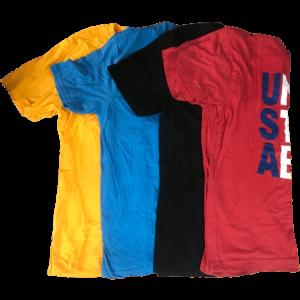4 For $17 Overruns/Misprints T-Shirt Sale