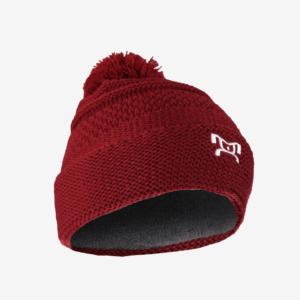 Knit Red Pom Pom L