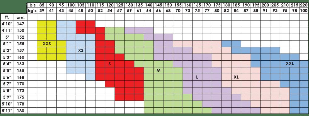 womens 3_4 leggings size chart