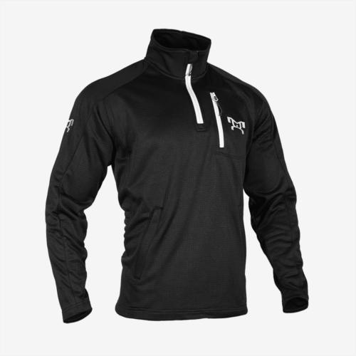 Black quarter zip fleece R