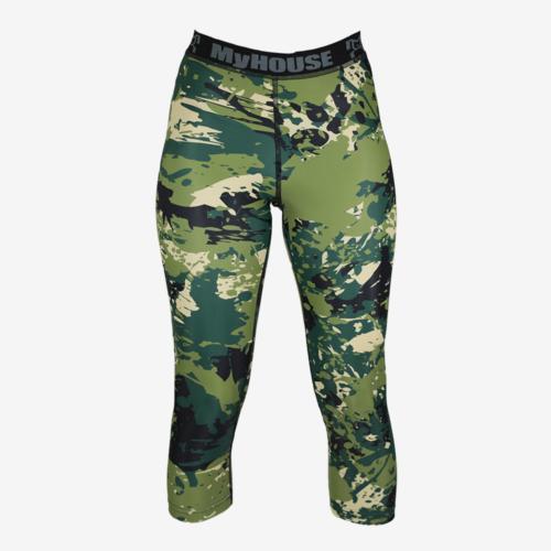Green Camo Leggings F