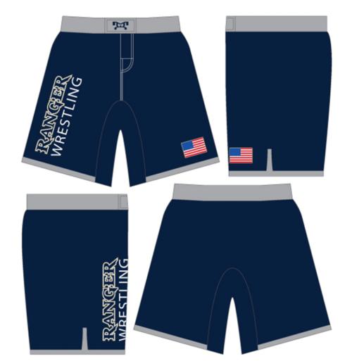 Santa Rosa Custom Fight Shorts