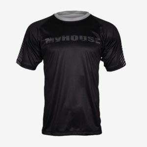 MyHouse Black Distressed Dri-Fit T-Shirt