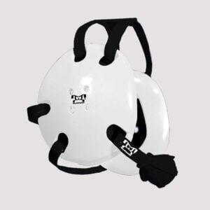 Black and White Earshot Head Gear