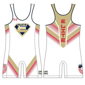 Elite Athletic Club Custom White Singlet