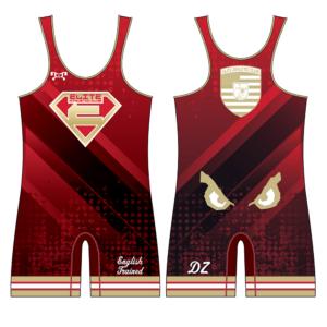 Elite Athletic Club Custom Red Singlet