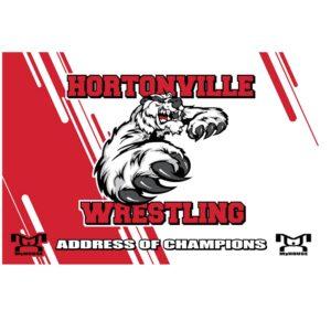 Hortonville Custom Team Banner