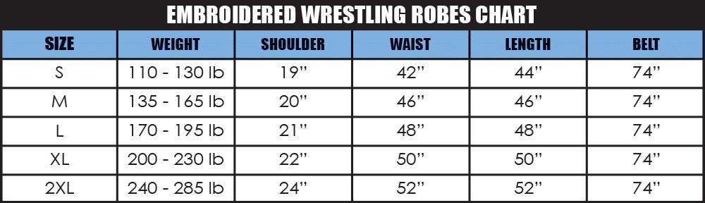Wrestling Robes