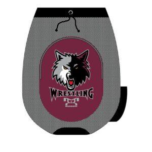 Wolves Wrestling Club Custom Sublimated Gear Bag