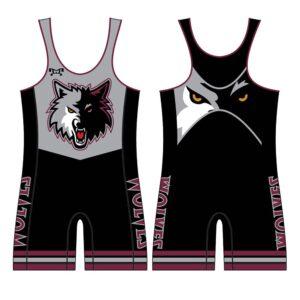 Wolves Wrestling Club Custom Singlet