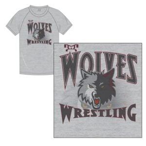 Wolves Wrestling Club Custom Sublimated T-Shirt