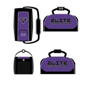 Elite Athletic Club Custom Conversion Duffel Bag