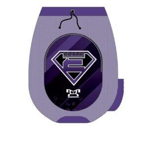 Elite Athletic Club Purple Custom Gear Bag