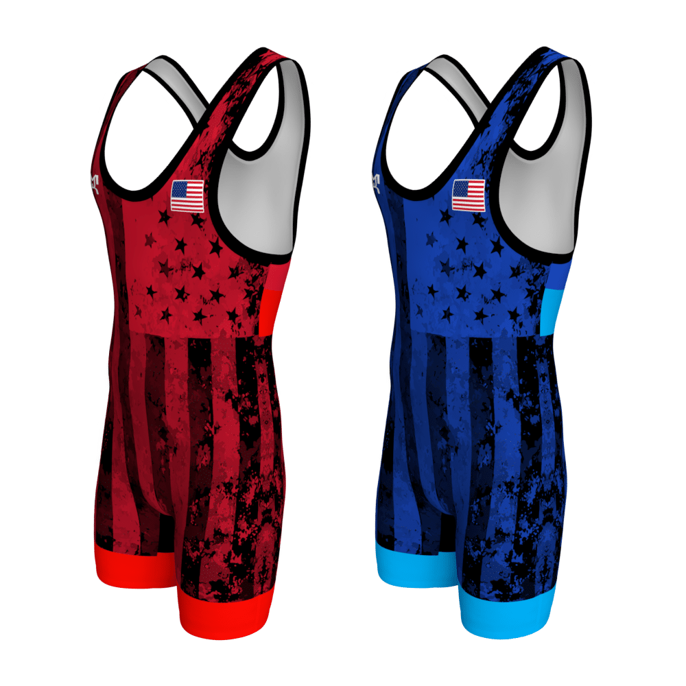Blue_Red_UWW_Flag_Singlets-Front