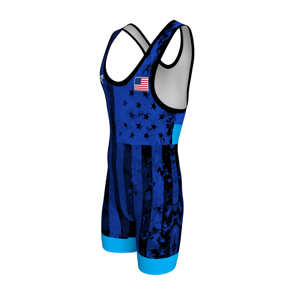 Blue_UWW_Flag_Singlet-Front_Angle