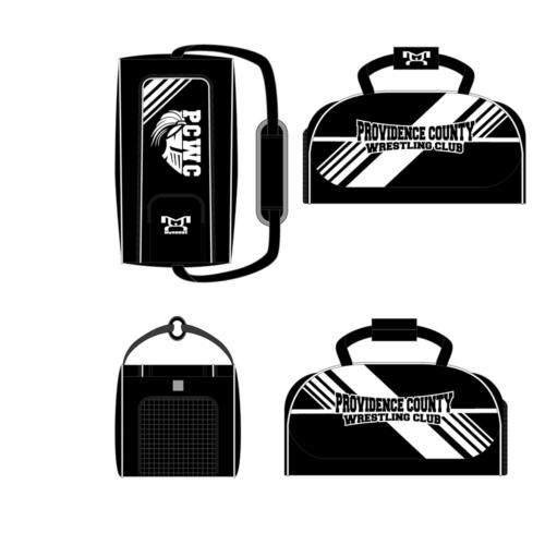 Providence County Wrestling Club Custom Conversion Duffel Bag